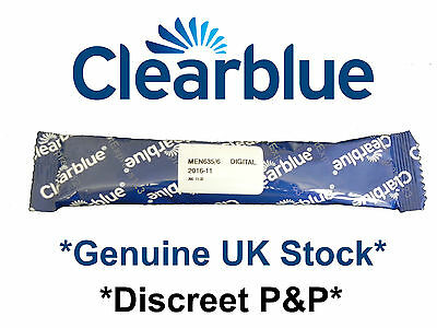 Clearblue Digital Pregnancy Test with Conception Indicator x 1 *Discreet P&P*