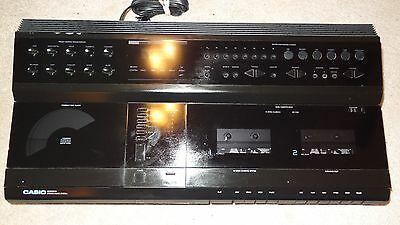 CASIO MS6025CA STEREO MUSIC SYSTEM TESTED WORKS GREAT
