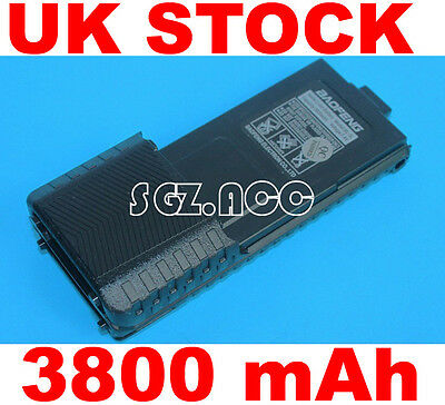Radio Battery BL-5L 3800mAh 7.4V for Baofeng BF UV5R TH-F8 Li-ion UK Local Stock