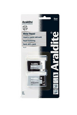 Araldite Metal Repair Filler Paste 81g Glue Adhesive