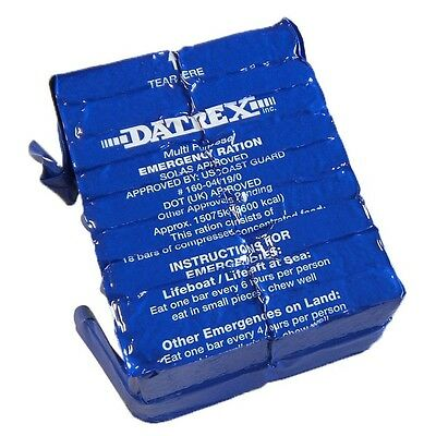 4x Datrex 3600 Calorie Bars Earthquake Emergency Survival Food Ration MRE