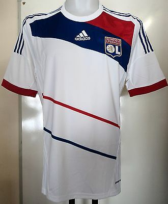 Olympic Lyon 2012/13 Player Formotion Home Shirt By Adidas Size Large Brand New