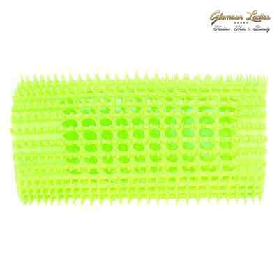 Hair Tools Stohr Hair Rollers, Pin-Cut Hair Rollers 5 x Green 22mm + Roller Pins