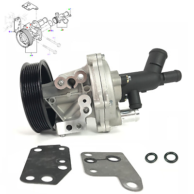 Brand New Water Pump With Connector For Transit Mk6/mk7 2.4 L Diesel