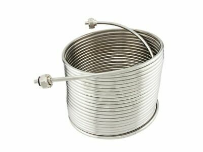 "NY Brew Supply Jockey Box Stainless Steel Coil - 5/16"" x 50', Right Hand"