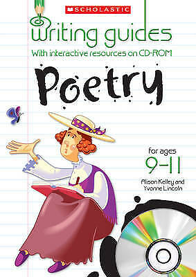 Poetry for Ages 9-11 (Writing Guides), Lincoln, Yvonne, Kelly, Alison, New condi