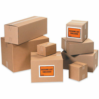 12x6x4 100 Shipping Packing Mailing Moving Boxes Corrugated Cartons