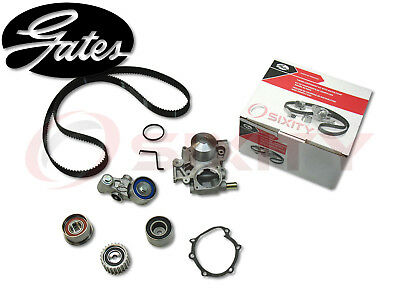 GATES TCKWP304A Timing Belt Water Pump Kit OE Engine Upgrade Tensioner Idler ph