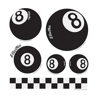 Electra Bicycle Straight 8 Sticker Set Decor Aufkleber Eightball Fahrrad
