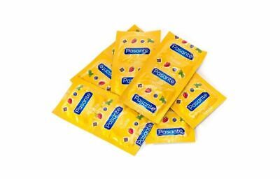 PASANTE Flavours / Flavoured CONDOMS Strawberry, Chocolate, Mint Bluberry OR MIX