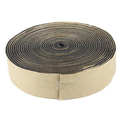 Black Foam 3mm Thickness 5cm Width Self-Adhesive Insulating Seal Tape