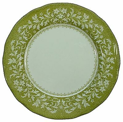J&G MEAKIN china Sherwood Green DESSERT or PIE PLATE 7""
