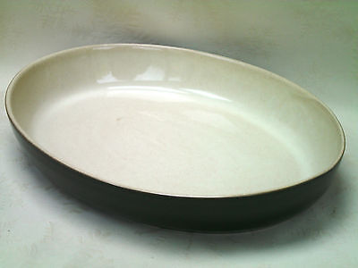 Denby Classic Green Cookware Large Oval Roasting Vegetable Serving Dish