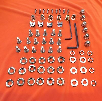 74 Piece Audi TT Mk.1 (8N) Stainless Steel Engine Bay Fastener & Strut Brace Kit