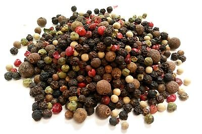 5 Peppercorn Mix / Whole Dried Mixed Peppercorns Premium Quality Free UK P & P