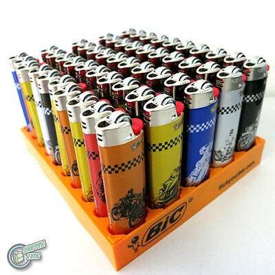 50 BIC TATTOO Mix Colour Child Guard Cigarette Tobacco Maxi Big J26 Cigar Large