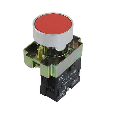 ZB2-BA42 NC Normally Closed Red Sign Momentary Push Button Switch 22mm