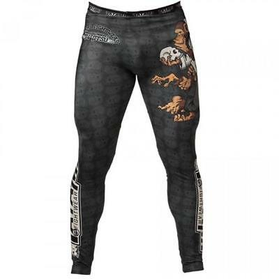 Tatami Thinker Monkey BJJ Spats Mens MMA Compression Tights Base Layer Gym
