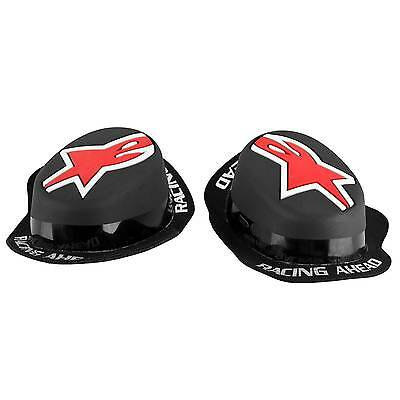 Alpinestars Moto GP Black/Red Motorcycle/Bike Riding Rain Sliders - TPU Compound