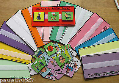 I can Communicate Pecs ~ Autism ~ASD~SEN~ Full colour cards and boards