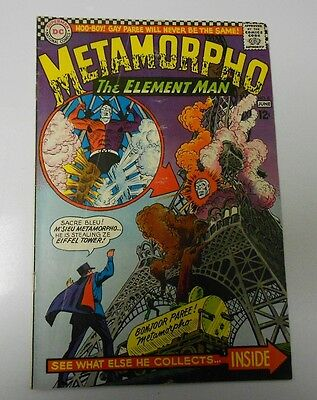 METAMORPHO The Element Man #5 FN #6 FN- Lot of 2