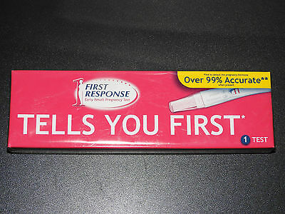 1 x First Response Early Result Pregnancy Test  *DISCREET POSTAGE*