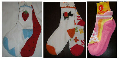 Gymboree variety girl socks NWT 2T 3T 3 1 or 2 pair UPICK size & style