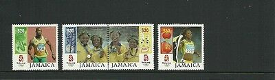 Jamaica Sg1145-1148 Olympic Games Bejing Set Mnh