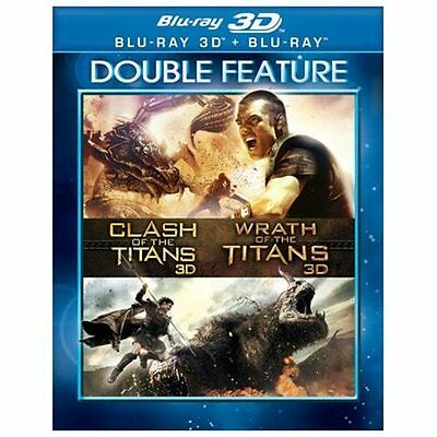 Clash of the Titans/Wrath of the Titans (Blu-Ray/3d/Df) (3-D)
