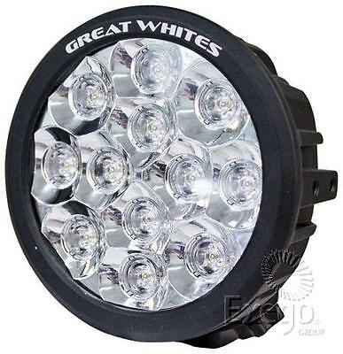 "Genuine Great Whites 4Wd Led 7"" 60W 12 Led Driving Light Gwr5121"