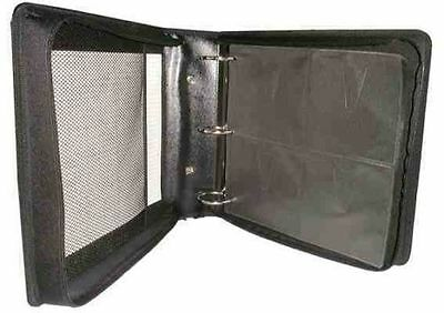 Carry Case 240 Dvd Cd Disc Storage Wallet With Ring Bniders