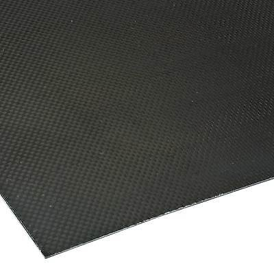 King Carbon Lightweight Thick Weave Carbon Fibre Sheet Approx. 2mm Thickness