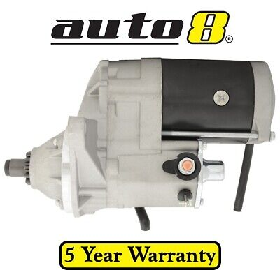 New Starter Motor to fit Isuzu FRD500 FRR500 7.8L Diesel 6HK1 2003 to 2007