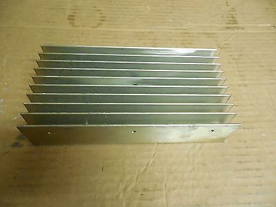 "NO NAME ALUMINUM HEATSINK HEAT SINK SYNC 8-1/4""x 4-1/8""x 1-3/4"""
