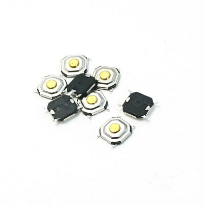 DC 12V 0.2A PCB SMT SMD Momentary Motion Micro Tactile Switch 5x5x1.5mm 8 Pcs