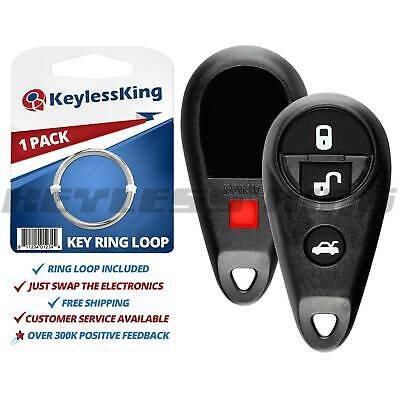 10PCS Replacement Key Case Shell 3 Buttons Pad For Ford