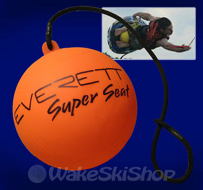 Everett Kneeboard Super Seat Cushion No More Pain New!! - Orange