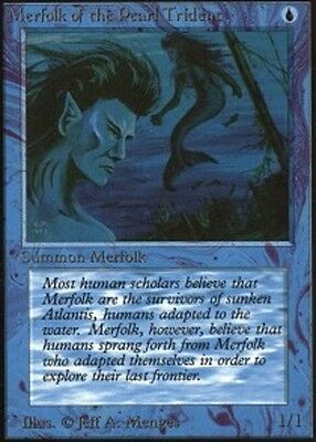 Merfolk of the Pearl Trident X1 (Unlimited) MTG (NM) *CCGHouse* Magic