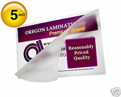 Wallet Photo size Hot 2-3/4 x 3-3/4 Laminating Pouches 5 Mil (100) by OregonLam
