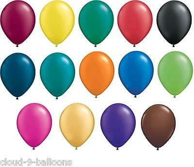 "100 x 5"" Qualatex Wedding Party Christening Balloons - (13cm) Air Fill"