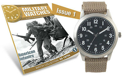 Military Watches Magazine Collection Issue #1 1970's American Infantry