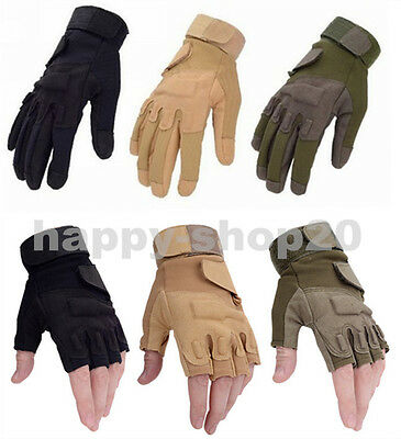Outdoor Sports Military Airsoft Hunting Paintball Cycling Army Tactical Gloves