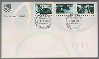 1992 BARCELONA Olympic Games FDC