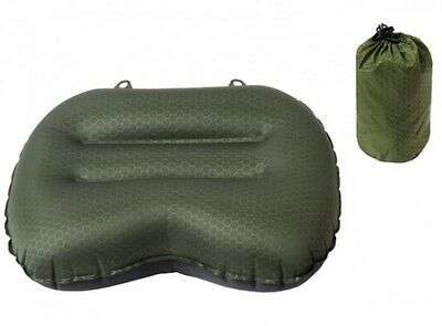 Exped Comfort Pillow [Green/Medium] Camping Hiking Sleeping Bag Pad Gear Outdoor