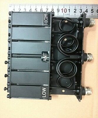 10W  VHF UHF 6 CAVITY Mini Duplexer for Radio-Tone Repeater N Connector New