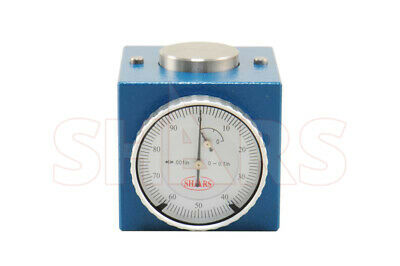"Shars Magnetic Z Axis Dial Zero Pre Setter Tool 2"" Height .0004"" Gage Offset CNC"
