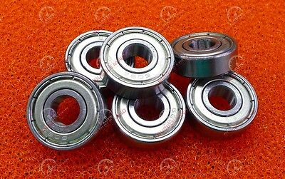 10 PCS - 608ZZ (8x22x7 mm) Metal Double Shielded High Precision Ball Bearing