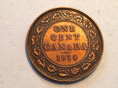 Canada 1914 One Cent Higher Grade Coin