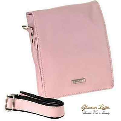 Hairdressing Tool Pouch - Pink Haito, Leather Effect Professional, Salon Use