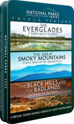 EVERGLADES + GREAT SMOKY MOUNTAINS + BLACK HILLS AND THE BADLANDS New DVD